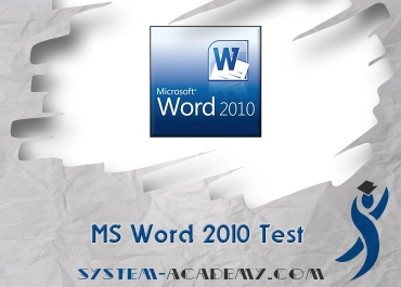 MS Word  2010 Test