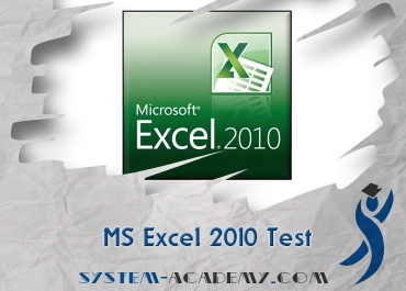 MS Excel 2010 Test